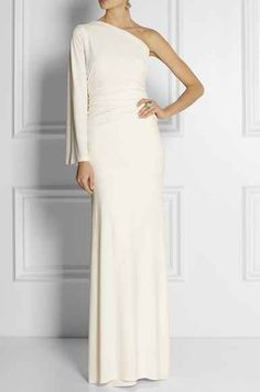 Kaufmanfranco One Shoulder Gown, $2,095