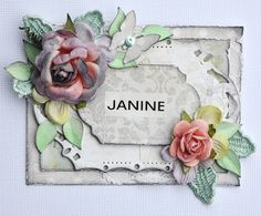 Paper Flourish: Lesson Information (July) Janine Koczwara