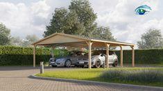 Dobbelt carport Classic 36m² Gazebo, Villa, Outdoor Structures, Classic, Outdoor Decor, Home Decor, Italy, Derby, Kiosk