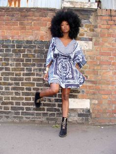 African Prints in Fashion: London Calling: Vibrant and Joyful Prints from Doris