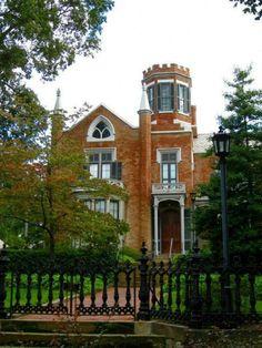 The Castle house in Marrietta Ohio