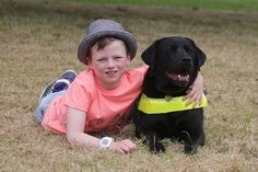 Assistance dog changed the life of a boy with cerebral palsy by helping him walk on his First Communion Day Disability News, Cerebral Palsy, Black Labrador, Love Pet, First Communion, Walk On, Four Legged, The Life, Philadelphia