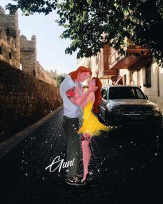 Belle and Adam Disney Princess Drawings, Disney Princess Art, Disney Fan Art, Disney Drawings, Disney And Dreamworks, Disney Films, Disney Cartoons, Disney Beauty And The Beast, Disney And More