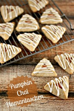 I can't believe it took me this long to come up with this hamantaschen flavor! I love pumpkin and I love chai, but I guess since this isn't pumpkin season, this idea hasn't hit me-until now. And ...