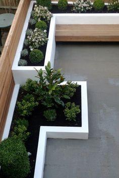 47+ Fascinating Small Backyard Landscape Designs for your garden - Home Decor Landscape Design Plans, Modern Garden Design, Modern Backyard, Small Backyard Landscaping, Landscaping Design, Backyard Projects, Backyard Ideas, Buy Plants, Cool Landscapes
