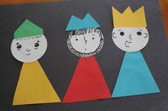 Man Crafts, Church Crafts, Sunday School Crafts, Wise Men, Black Paper, Preschool Crafts, Sharpie, Christmas Crafts, 1