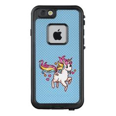 #The Majestic Llamacorn LifeProof FRĒ iPhone 6/6s Case - #funny #unicorn #unicorns #horse #horses #magical #colourful #fantasy