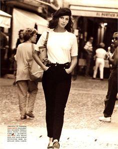 Christy Turlington by Arthur Elgort Vogue Italia, December 1992