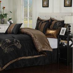 Simple Luxury Camden 7 Piece Reversible Comforter Set Size: Queen
