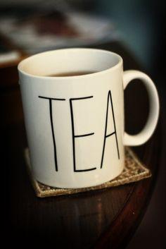 Teacup via hollyknitlightly: From Chapters/Indigo. #Mug