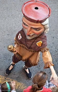 La Merce (Giants Parade) Festa major de Barcelona  Catalonia