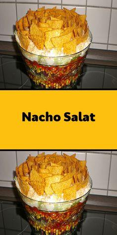 Nacho Salat, Nacho Dip, Nachos, Serving Bowls, Decorative Bowls, Brunch, Vegetables, Cooking, Breakfast