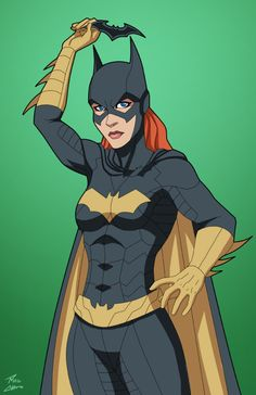 Batgirl 1.5 commission by phil-cho