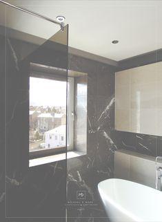 by Michael Ó Mara Interior Design & property solutions, Dublin Corner Bathtub, Dublin, Bathing, Interiors, Interior Design, Bath, Nest Design, Swim, Home Interior Design