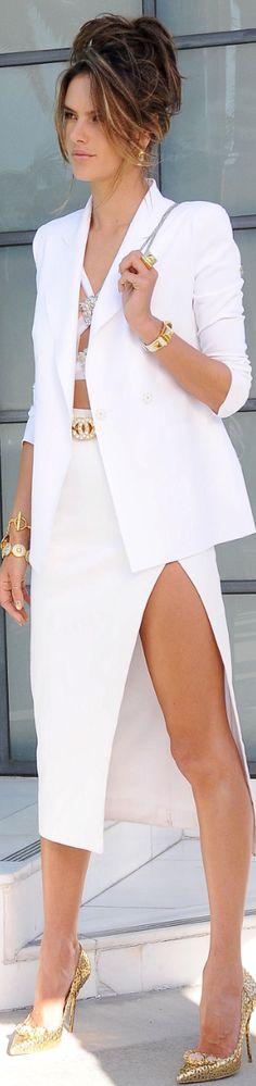 Alessandra Ambrosio wearing Chanel accessories, Harper's Bazaar Russia FEB 2014
