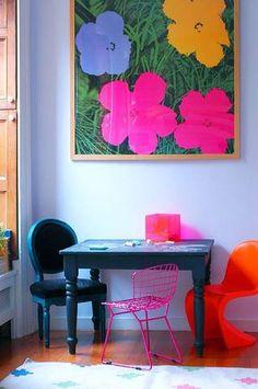 best interior design blogs LITTLE GREEN NOTEBOOK chalkboard painted kids table