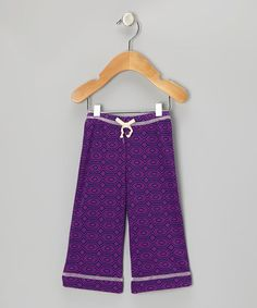 Take a look at this Amethyst Diamond Organic Pants - Infant by Kiwi Industries on #zulily today!