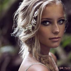 Olivia Headpieces Gelin Saçı Aksesuarı - 3