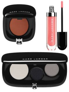 Marc Jacobs Beauty Launches Tomorrow: One of our all-time favorite designers has finally thrown his hat into the beauty ring. Love these products. #SelfMagazine
