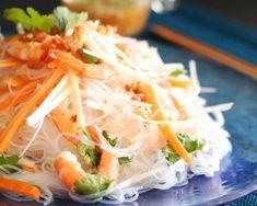 Salade Thaïe de Vermicelles aux Crevettes