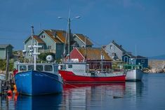 Planning a Nova Scotia road trip? This travel guide offers a complete Nova Scotia Road Trip itinerary to help you plan your stay. Nova Scotia, Canadian Travel, Atlantic Canada, Boat Painting, Famous Landmarks, Prince Edward Island, New Brunswick, Fishing Villages, Travel Images