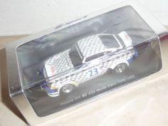 Porsche 911 SC Boss Rally Montecarlo 1983 #23 Barth/Kussmaul Spark S2090 1:43