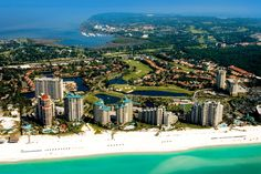 Sandestin Golf and Beach Resort is situated on the Emerald Coast of Northwest Florida and spans 2,400 acres of property, from the beach to the bay.