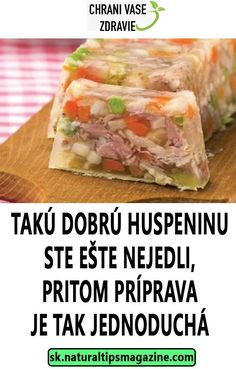 TAKÚ DOBRÚ HUSPENINU STE EŠTE NEJEDLI, PRITOM PRÍPRAVA JE TAK JEDNODUCHÁ What To Cook, Food 52, Food And Drink, Mexican, Cooking, Health, Ethnic Recipes, Kitchen, Healing Stones