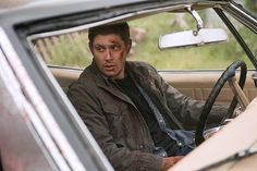 """Supernatural -- """"Baby"""" -- Image -- Pictured: Jensen Ackles as Dean -- Photo: Diyah Pera /The CW -- © 2015 The CW Network, LLC. All Rights Reservedpn Supernatural Season 11, Supernatural Baby, Supernatural Episodes, Supernatural Beings, Supernatural Impala, Dean Winchester, Jensen Ackles, Mark Sheppard, Watch Full Episodes"""
