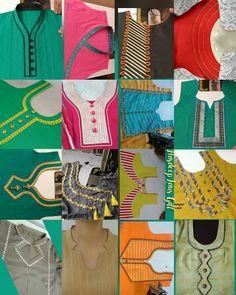 Kurti design – Page 525443481523876609 – SkillOfKing. Chudidhar Neck Designs, Neck Designs For Suits, Neckline Designs, Blouse Neck Designs, Sleeve Designs, Dress Designs, Hand Designs, Blouse Styles, Salwar Kameez Neck Designs
