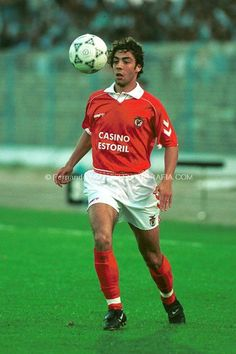 Rui Costa Best Football Players, Good Soccer Players, Football Love, World Football, Benfica Wallpaper, Rui Costa, My Dream Team, Football Uniforms, Sport Icon
