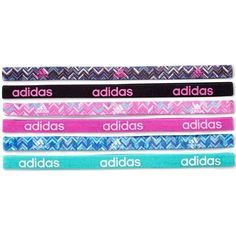 adidas Fighter Hairbands, 6 Pack ($12) ❤ liked on Polyvore featuring accessories, hair accessories, headband hair accessories, head wrap headband, adidas, adidas headbands and head wrap hair accessories