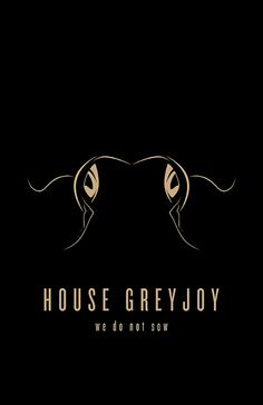 House Greyjoy Minimalist Poster by Thomas Gateley