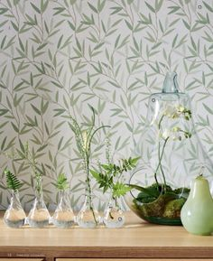 64 New Ideas For Flower Wallpaper Living Room Laura Ashley Cottage Chic, Washable Wallpaper, Willow Leaf, Laura Ashley Home, Childrens Room Decor, Flower Wallpaper, Spring Summer 2016, Inspired Homes, Colour Schemes