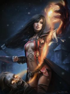 Velvet by Jorsch.deviantart.com on @DeviantArt - More at https://pinterest.com/supergirlsart/ tales of berseria #fantasy #art #sorceress