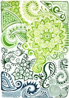 Green sea design by ~yael360 on deviantART