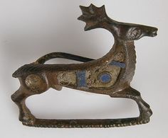 Brooch in the form of a Stag. Roman, 2nd-3rd century AD.