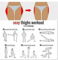 fitness, workout, and exercise image Fitness Workouts, Yoga Fitness, Butt Workout, Fitness Tips, Health Fitness, Thin Legs Workout, Dance Fitness, Tighs Workout, 5 Min Workout