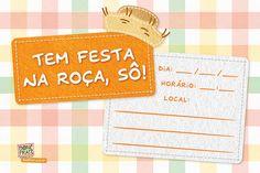 Convite para Festa Junina para imprimir @ BoniFrati