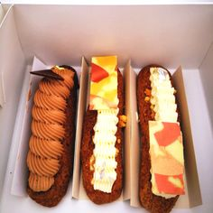 Eclairs from Chez Dre in Sth Melb- also have amazing macarons!!