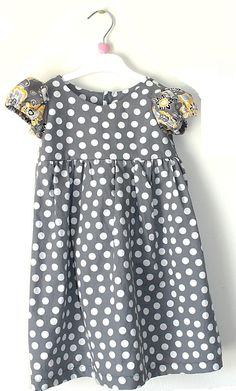 FREE PATTERN - Freshly Completed: Little Miss Dress-- Free Size 2 PDF Pattern