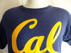 go Cal Golden Bears vintage 90's UC Berkeley by sunkissedhighways