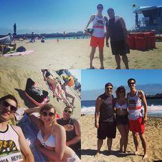 Santa Cruz CA: Afternoon at the #beach on a cloudless day in Santa Cruz!  #santacruz #boardwalk by bmartinson13