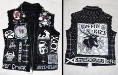Horror Punk Vest by CityUndead on deviantART