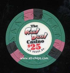 #LasVegasCasinoChip of the Day is a $25 The Real Deal Casino you can get here http://www.all-chips.com/ChipDetail.php?ChipID=18615 #CasinoChip #LasVegas