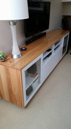 Vous voulez donner à votre banc TV IKEA BESTÅ un nouvel aspect boisé ?  #BESTA #ikea