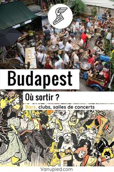 Où sortir à Budapest ? Bars, clubs, salles de concerts Parcs, Club, Concerts, Comic Books, Cover, Concert Hall, Going Out, Tourism