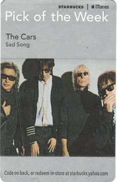 The Cars-Sad Song Code Expiration Date September 2, 2011