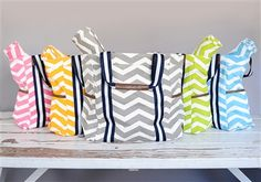 Chevron Spring Color Totes *Included Diaper Changing Pad* Our Price: $59.99 SALE PRICE: $14.99