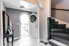 Custom door and winding stairway to 2nd floor. Mary Lynn Calgaro 312-550-3423 eliteteam.midwest@gmail.com